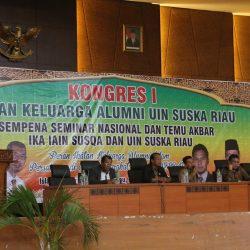 Perdana, IKA UIN Suska Riau Gelar  Kongres dan Temu Akbar