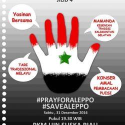 Bunga Rampai UKK/UKM UIN Suska untuk Aleppo