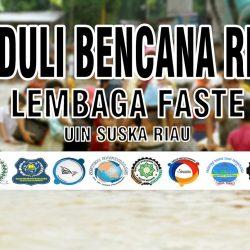 Kelembagaan FST Galang Dana Untuk Bencana Riau