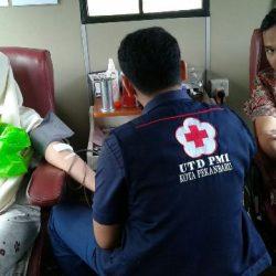 KSR PMI Adakan Program Rutin Donor Darah