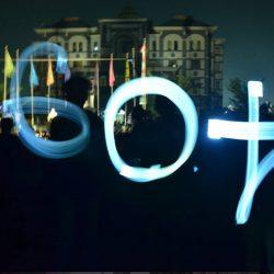 60+ Earth Hour UIN Suska Riau