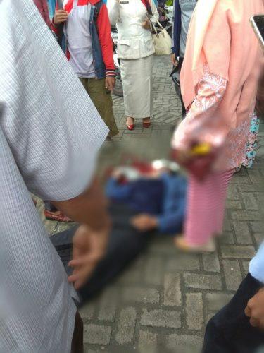 Kronologi Kecelakaan Mahasiswi UIN Suska