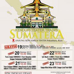 Sanggar Latah Tuah Pertama Kali Adakan Kenduri Bertema Tradisi Sumatra