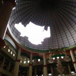 Rusaknya Kubah Masjid Menimbulkan Keresahan