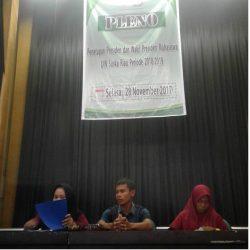 Kronologi Pleno Penetapan Presma dan Wapresma 2017/2018