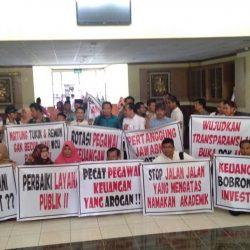 Kronologi Aksi Demonstrasi Dosen Se-UIN Suska Riau