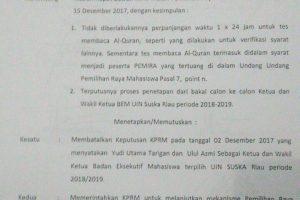 Ketua Umum BLM Kaget Hasil Putusan Sidang DKP