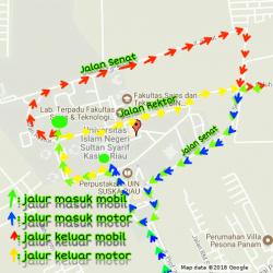 Tanggulangi Macet, Satpam Rekayasa Jalur Lalin