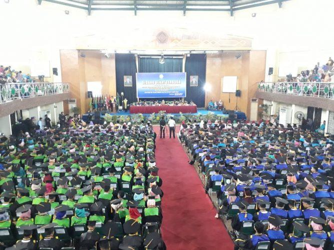 Wisuda Kedua UIN Suska Riau, Anwar Sidik Jadi Pemuncak