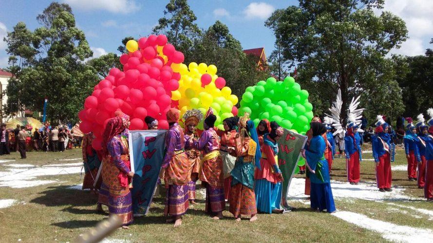 221 Penari Masal Ikuti Pembukaan PW PTK Ke-XIV UIN Suska Riau