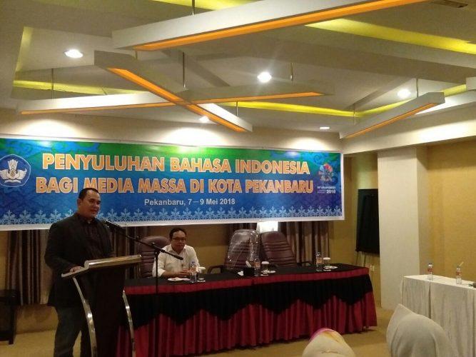 Balai Bahasa Riau Adakan Penyuluhan Bahasa Indonesia