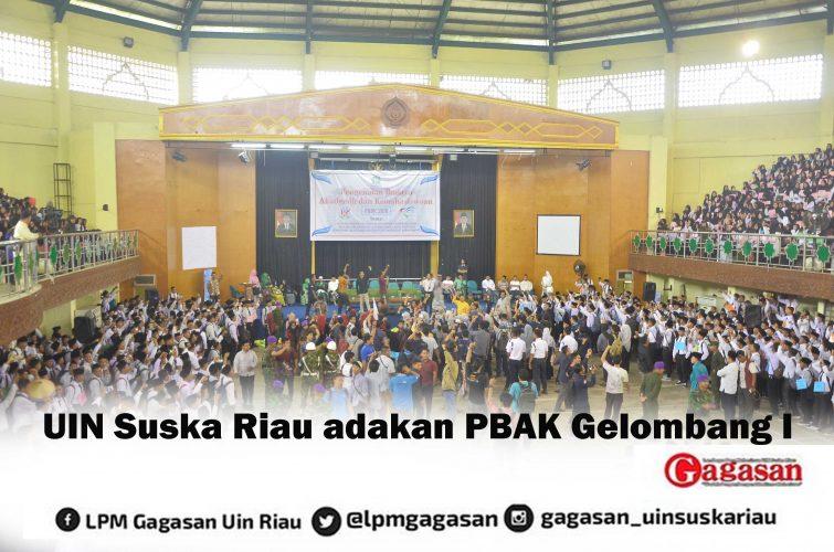 UIN Suska Riau Adakan PBAK Gelombang I