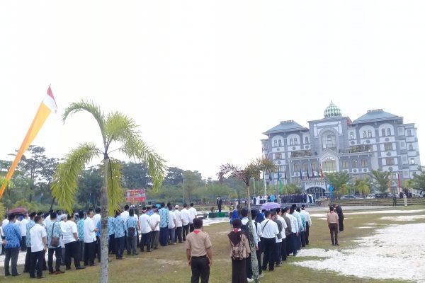Peringati HUT RI ke-73, UIN Suska Riau Gelar Upacara