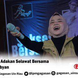 BEM FTK Adakan Selawat Bersama Nissa Sabyan