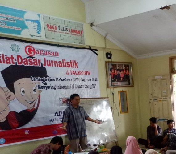 Fakhrurrodzi : Ini Tips Untuk Jurnalis Pemula