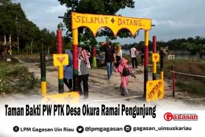 Taman Bakti PW PTK Desa Okura Ramai Pengunjung