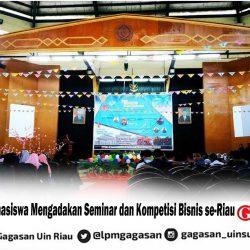 Koperasi Mahasiswa Mengadakan Seminar dan Kompetisi Bisnis se-Riau