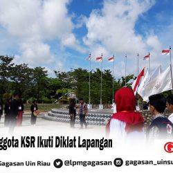 Calon Anggota KSR Ikuti Diklat Lapangan
