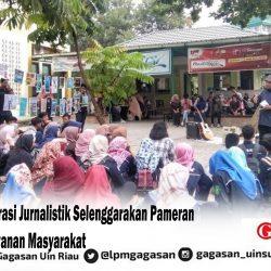 Konsentrasi Jurnalistik Selenggarakan Pameran Iklan Pelayanan Masyarakat