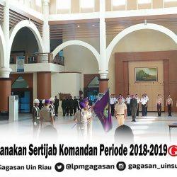 Menwa Laksanakan Sertijab Komandan Periode 2018-2019