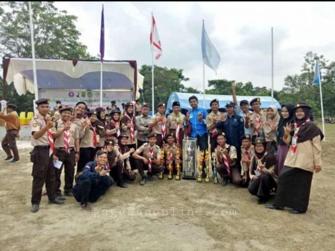 Pramuka UIN Suska Raih Juara Umum TKP3V se-Riau