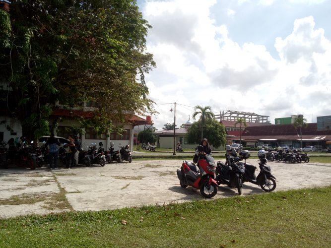 Menjelang Lebaran, PB UIN Suska Riau Sepi Mahasiswa