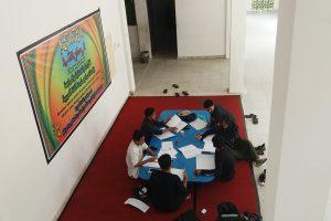 Kajur PBA Bangun Sudut Literasi