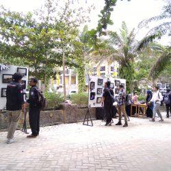 Gelar Pameran Foto, Mahasiswa Ilkom Tingkatkan Kemampuan Fotografi