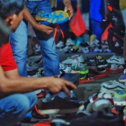 Mencari 'Harta Karun' di Pasar Jongkok Tembilahan