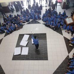 Mahasiswa Gelar Aksi UIN Suska Darurat Rektor