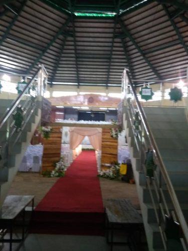 Acara Pernikahan Tetap Dilangsungkan di Gedung PKM Meski UIN Suska Dilockdown