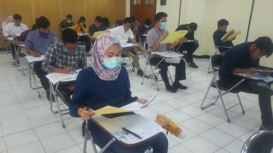 Pelaksanaan UTBK, UIN Suska Riau Terapkan Protokol Kesehatan Covid-19