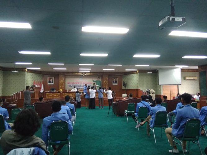 Rektor UIN Suska Riau Jawab Tuntutan Mahasiswa Aksi