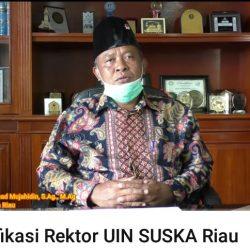 Klarifikasi Rektor UIN Suska Riau Atas Pernyataan Anggota DPR RI