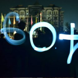 60+ Earth Hour UIN Suska Riau