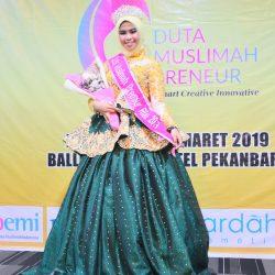Tamara Pratiwi, Duta Muslimah Preneur Riau 2019