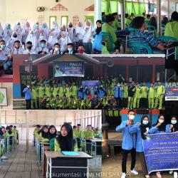 HMJ HTNS Datangi Sekolah di Pedesaan, Kenalkan PTS PTN di Riau