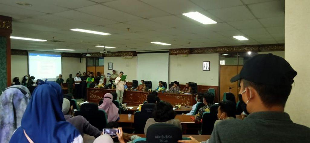 Gejolak Protes 38 HMPS UIN Suska Riau atas Terpilihnya Al-Hafiz sebagai Ketua Dema Universitas 2021/2022