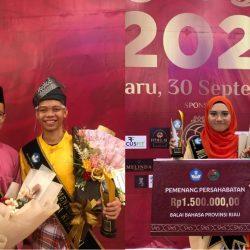 Tiga Mahasiswa UIN Suska Riau Raih Juara Dalam Pemilihan Duta Bahasa Riau 2021