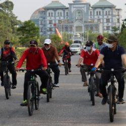 Rutin Adakan Kegiatan Fun Bike, Civitas Akademik UIN Suska Harap Dapat Jalin Keakraban Yang Lebih Baik.